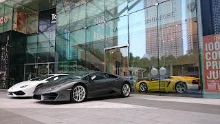 Lamborghini Suntec City Singapore