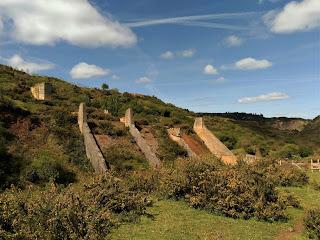 Ruinas mineras en Matamoros, Trapagaran, Bizkaia