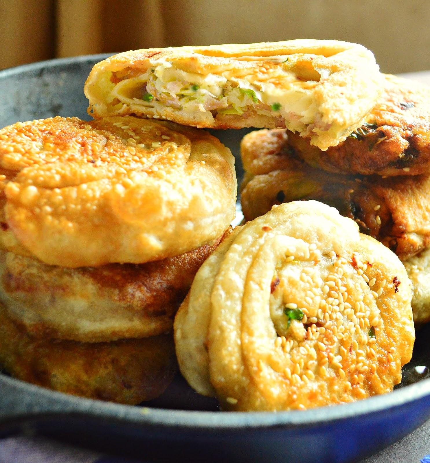 Xian Chines Stuffed Pork Pancakes