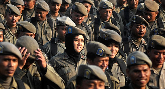 Contoh Surat Lamaran Kerja Sebagai Satuan Polisi Pamong Praja (Satpol PP)