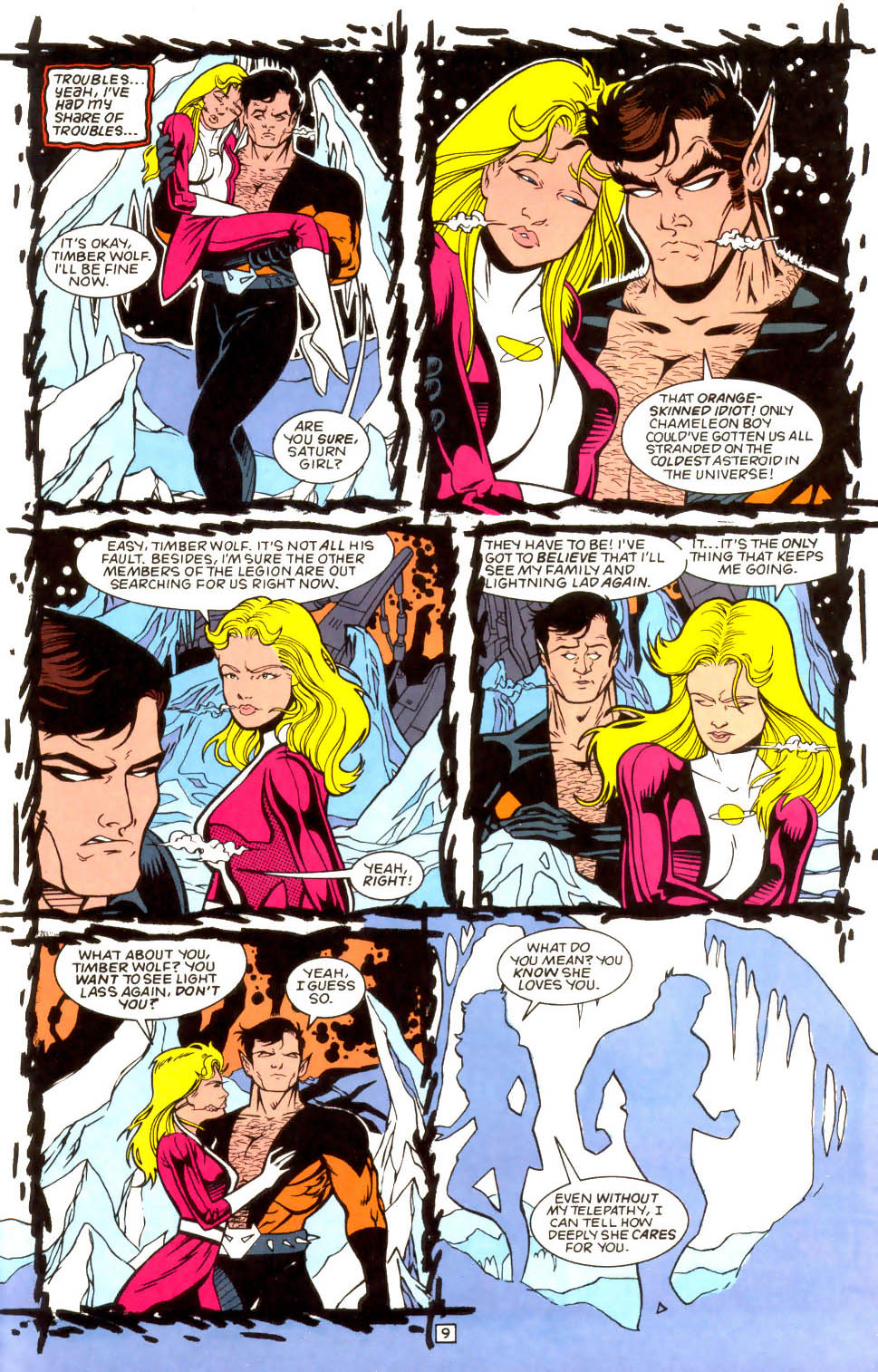 Legion of Super-Heroes (1989) 52 Page 9