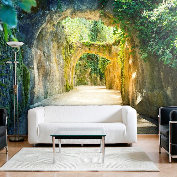 Best 3D wallpaper designs for living room and 3D wall art ...