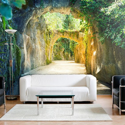 nature 3D mural wallpaper murals for sofa walls