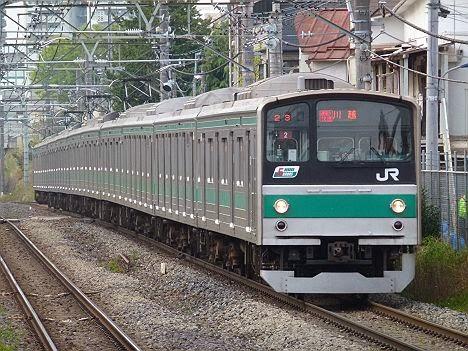 りんかい線 埼京線直通 通勤快速 川越行き1 205系・りんかい線70-000形