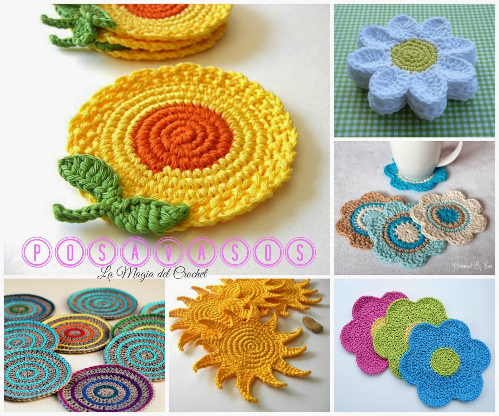 Posavasos a crochet aprender manualidades es for Facilisimo com manualidades