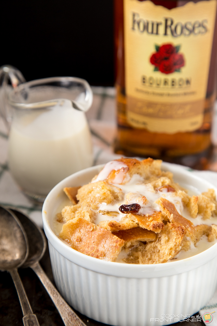 Bourbon Bread Pudding with Bourbon Sauce