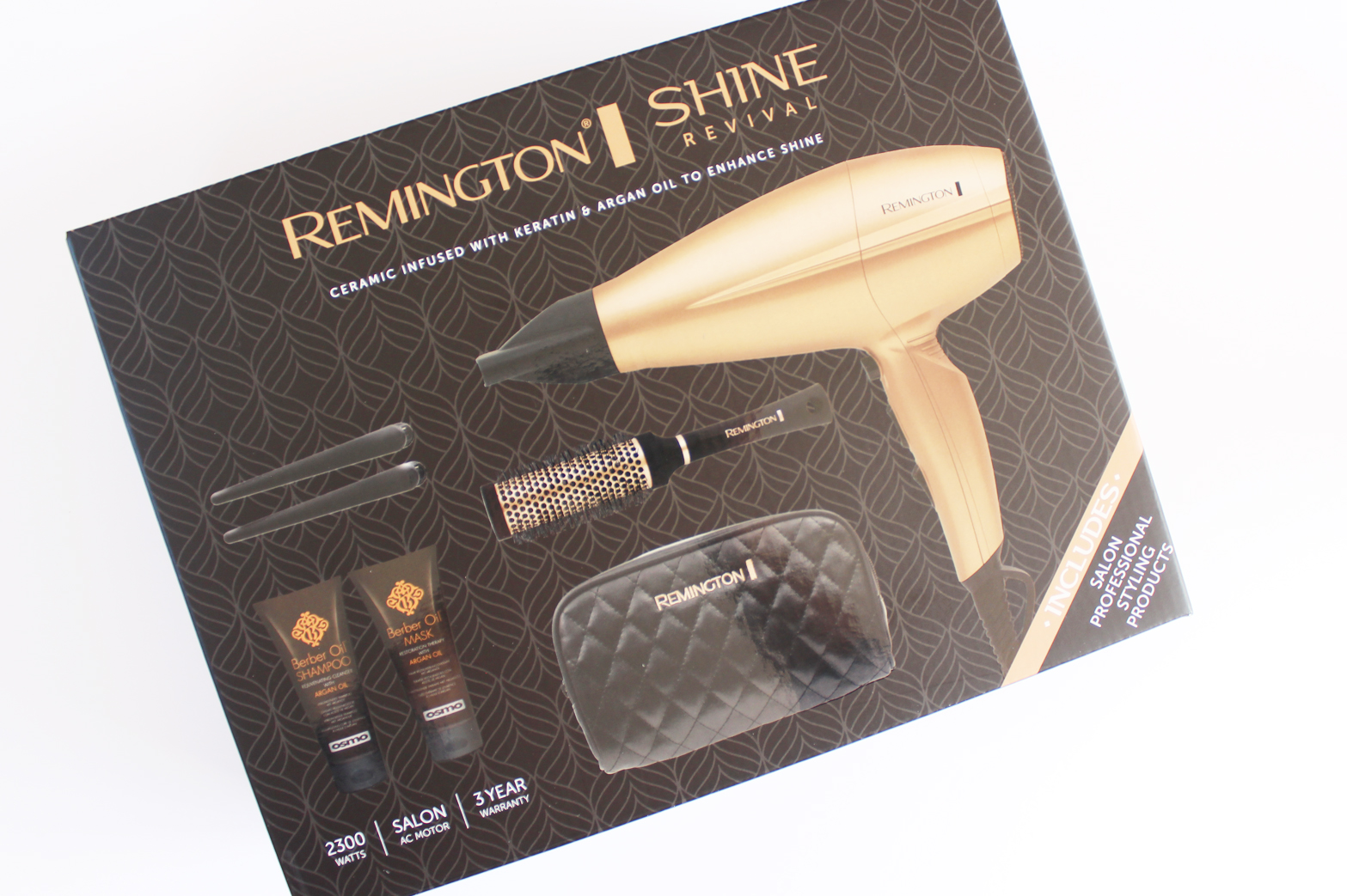 REMINGTON | Shine Revival Hair Dryer Review - CassandraMyee