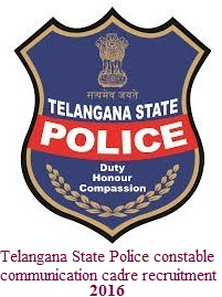 Telangana Govt released another PC recruitment notification with 332 posts Telangana Police Communication Constable Notification 332 Posts Telangana Communication Constable Recruitment 2016 Apply Online Application Form 332 Jobs. Telangana State Level Police Recruitment Board has recently disclosed a recruitment notification for filling up Stipendiary Cadet Trainee (SCT) Police Constable (Communication) (Men & Women) posts in Police Department. Total 332 vacancies are to be filled with Latest Telangana Police Constable Notification 2016. TSLPRB Telangana Police Constable Notification 2016 Telangana Police Communication Constable Notification 332 Posts  TS Police Organization has provided complete data required for the preparation like TS Police syllabus, exam pattern, previous and model papers etc at official site. TS Constable Online Application Form 2016 submission process along with direct link for accessing application has been given in this blog post. Candidates read the notification carefully before submit application. Hit on the link of Online Application Form. Fill the application with candidates information and attach copies of all relevant documents. Completed the application form on or before last date. Selection of the applicants for TS Police Constable Notification 2016 will be based on Applicants performance in selection rounds of PET, PMT and Interview. candidates qualified in preliminary round only forwarded to next selection round. TS Police Association has provided complete information required for the preparation like syllabus, exam pattern, previous and model papers etc at official login page. Pay scale for selected candidates will be as per TS Police Department norms. For more detailed information regarding Telangana Police 332 SCT Constable Recruitment Notification 2016 like academic qualification, age limit criteria, application fee, selection rounds, pay scale, exam and Interview date along with TS Police SCT Constable Syllabus Exam Pattern 2016 etc. verify this blog and same information also given in official advertisement