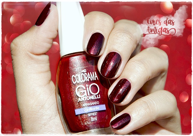 Esmalte Nailpolish Arrasando Colorama Giovanna Antonelli