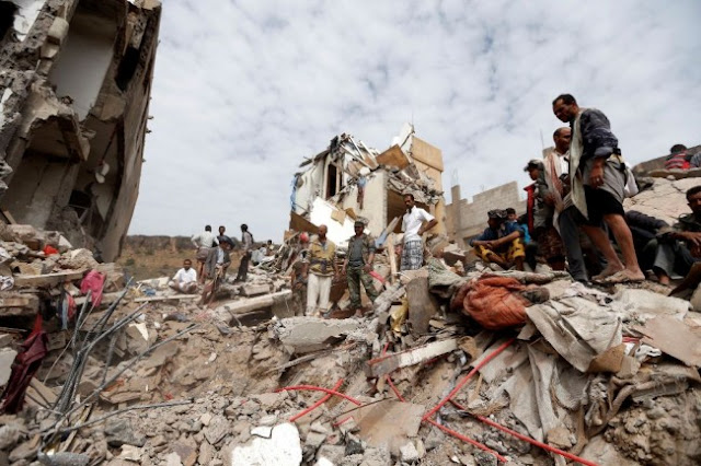 Tentara Saudi Tewaskan Ribuan Muslim Yaman, tapi Gak ada Pendaftaran Jihad dan demo