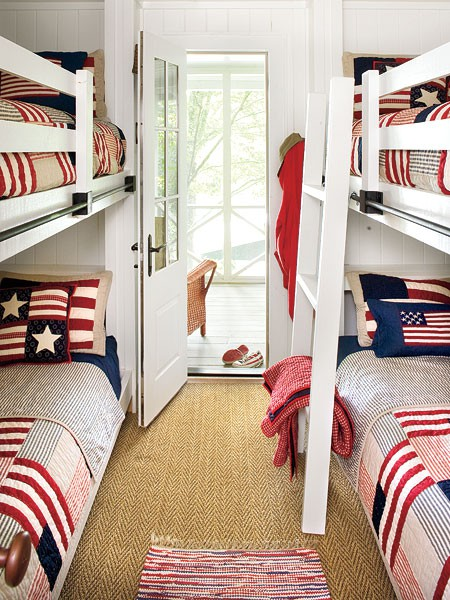 american flag bedding