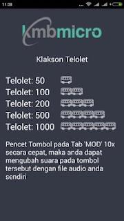 Klakson Telolet Android Apk
