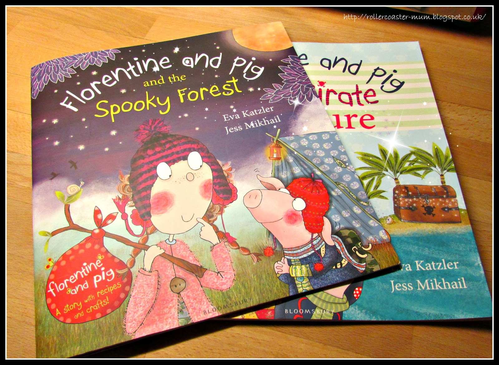 Book review - Florentine and Pig and the Spooky Forest