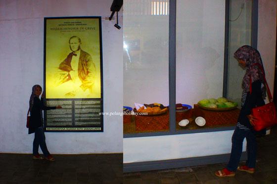 koleksi poto sejarah di museum gudang rangsum sawahlunto