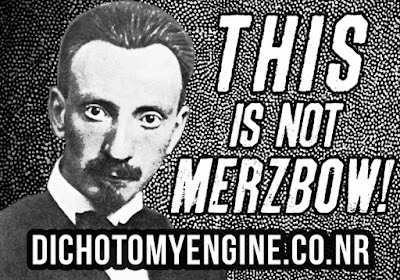 Dichotomy Engine stickers - this is not MERZBOW!