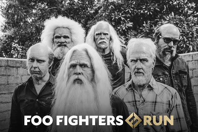 RUN FOO FIGHTERS