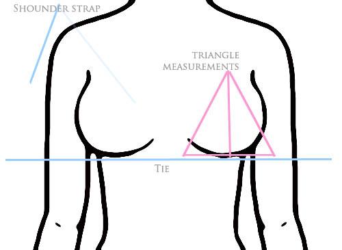 Triangle Bikini Top Pattern