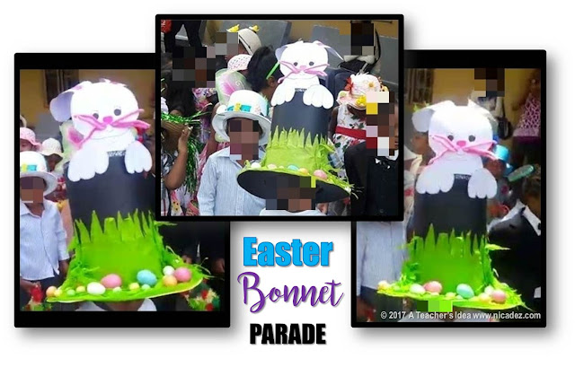 easter bonnet parade for boys, nicadez