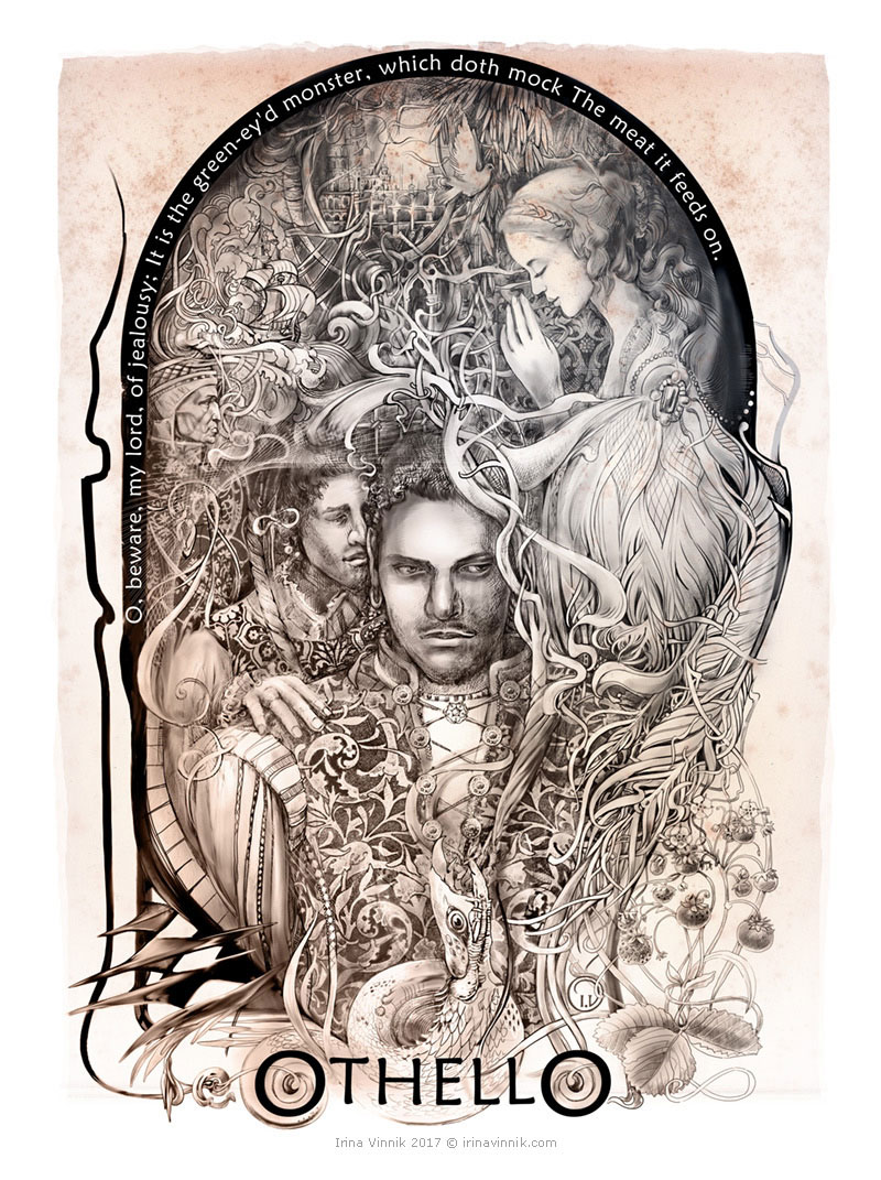 Shakespeare Illustrations by Irina Vinnik
