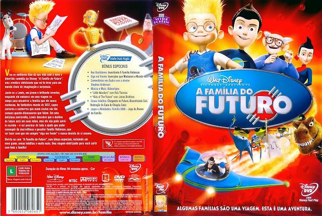 Capa DVD A FAMÍLIA DO FUTURO