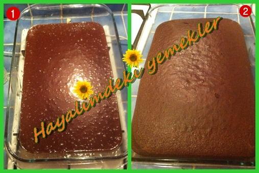 Çikolatalı Browni Pasta Tarifi,resimli Çikolatalı Browni Pasta nasil yapilir