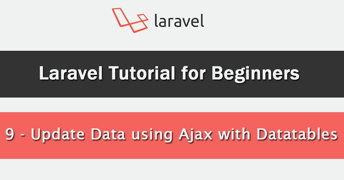 Update or Edit Mysql Data in Laravel using Ajax with