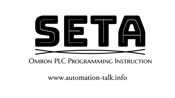 Set Multiple Bits in One Instruction - SETA Omron PLC Programming