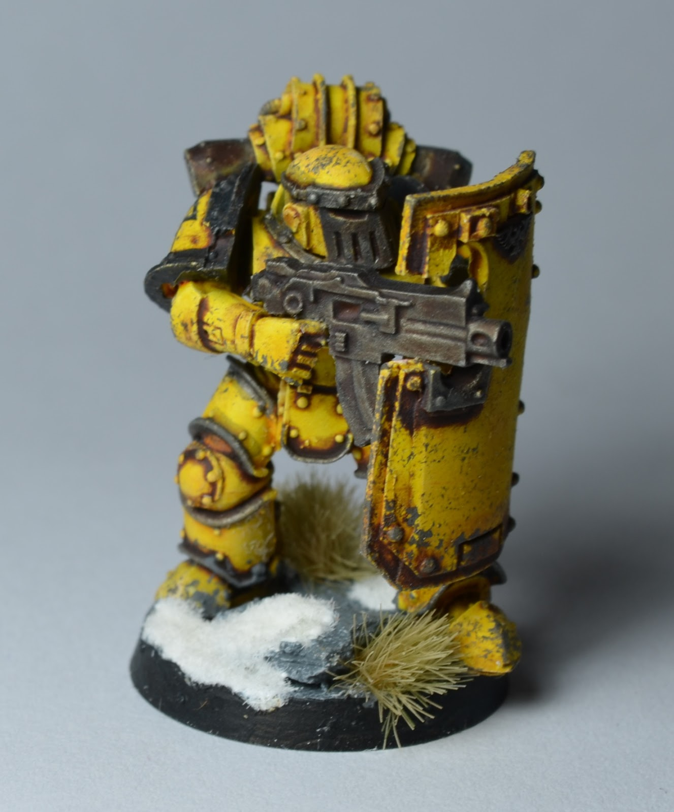 The Sons Of Dorn: Mark IV Sergeant And Vox Astartes
