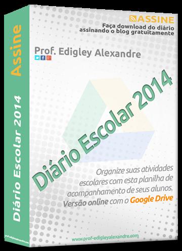 Diário Escolar 2014 - Versão online com o Google Drive