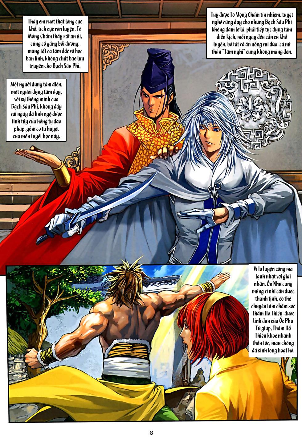 Ôn Thuỵ An Quần Hiệp Truyện Phần 2 chapter 32 trang 9