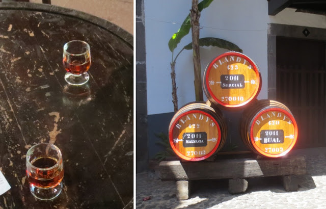 Blandy's Madeira - Weinprobe in Funchal