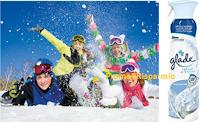 Logo Concorso ''Vinci il Natale con Glade'': soggiorni sulle Alpi per tutta la famiglia