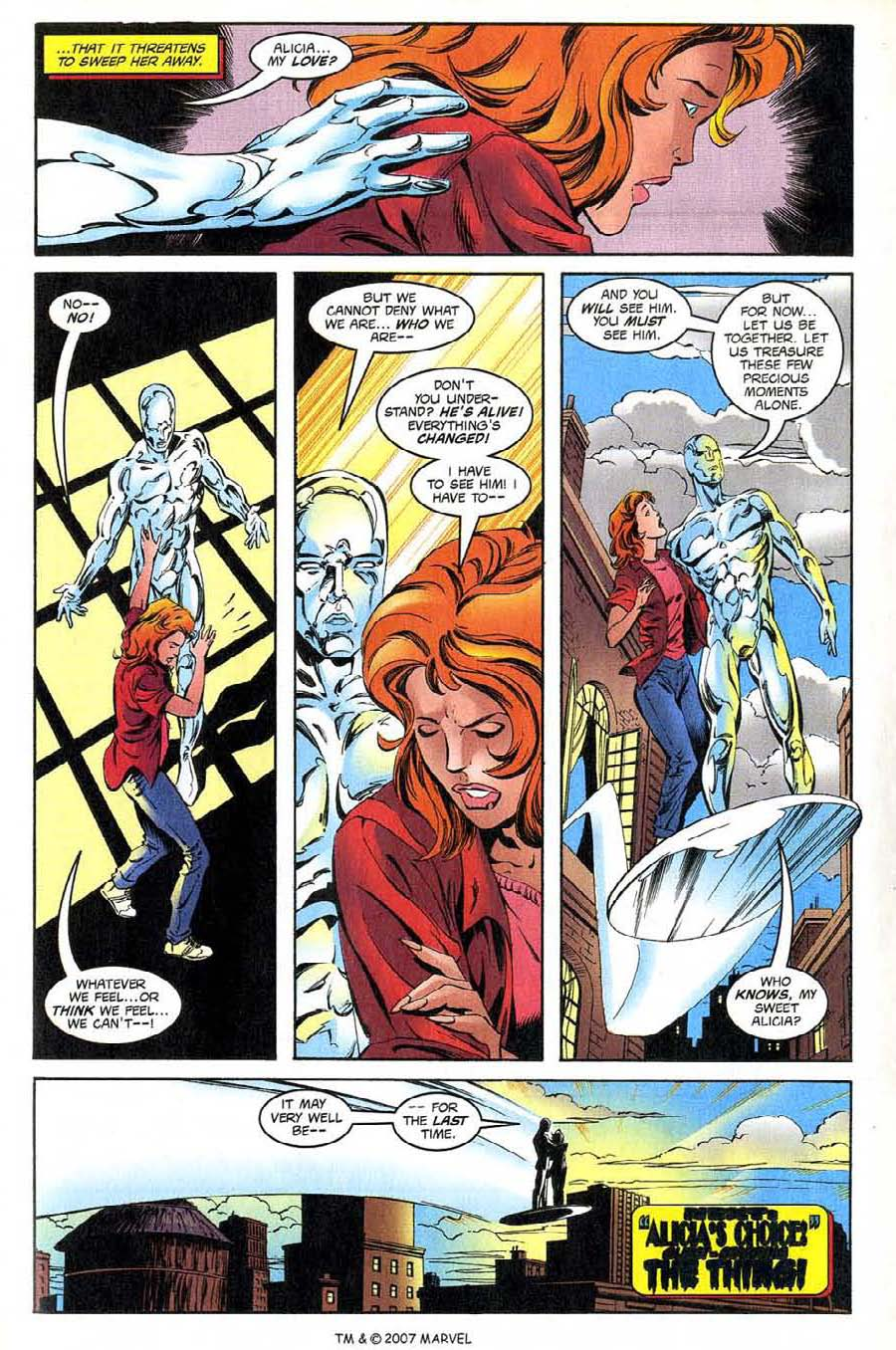 Read online Silver Surfer (1987) comic -  Issue #137 - 35