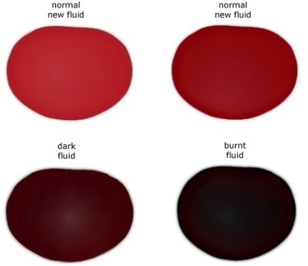 transmission fluid color