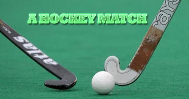 A Local Hockey Match