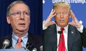 Trump attacks Senate leader over healthcare failure