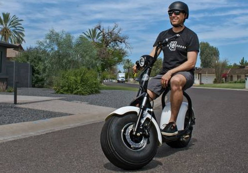 Tinuku.com Path Scooters launches fat wheeled e-scooter for all terrain
