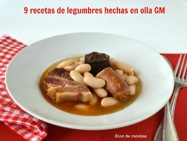 Bloc de recetas 9 recetas de legumbres hechas en olla gm - Repollo en olla express ...