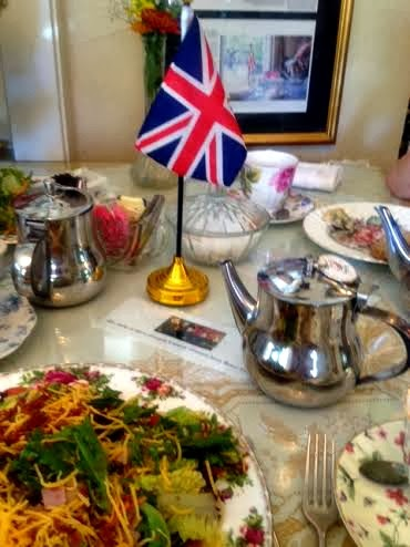 Tea at the English Tearoom