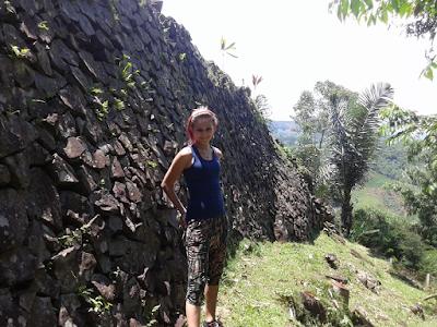 Gunung Padang Pyramid: Terrace 2