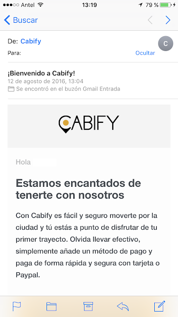 Cabify-Montevideo