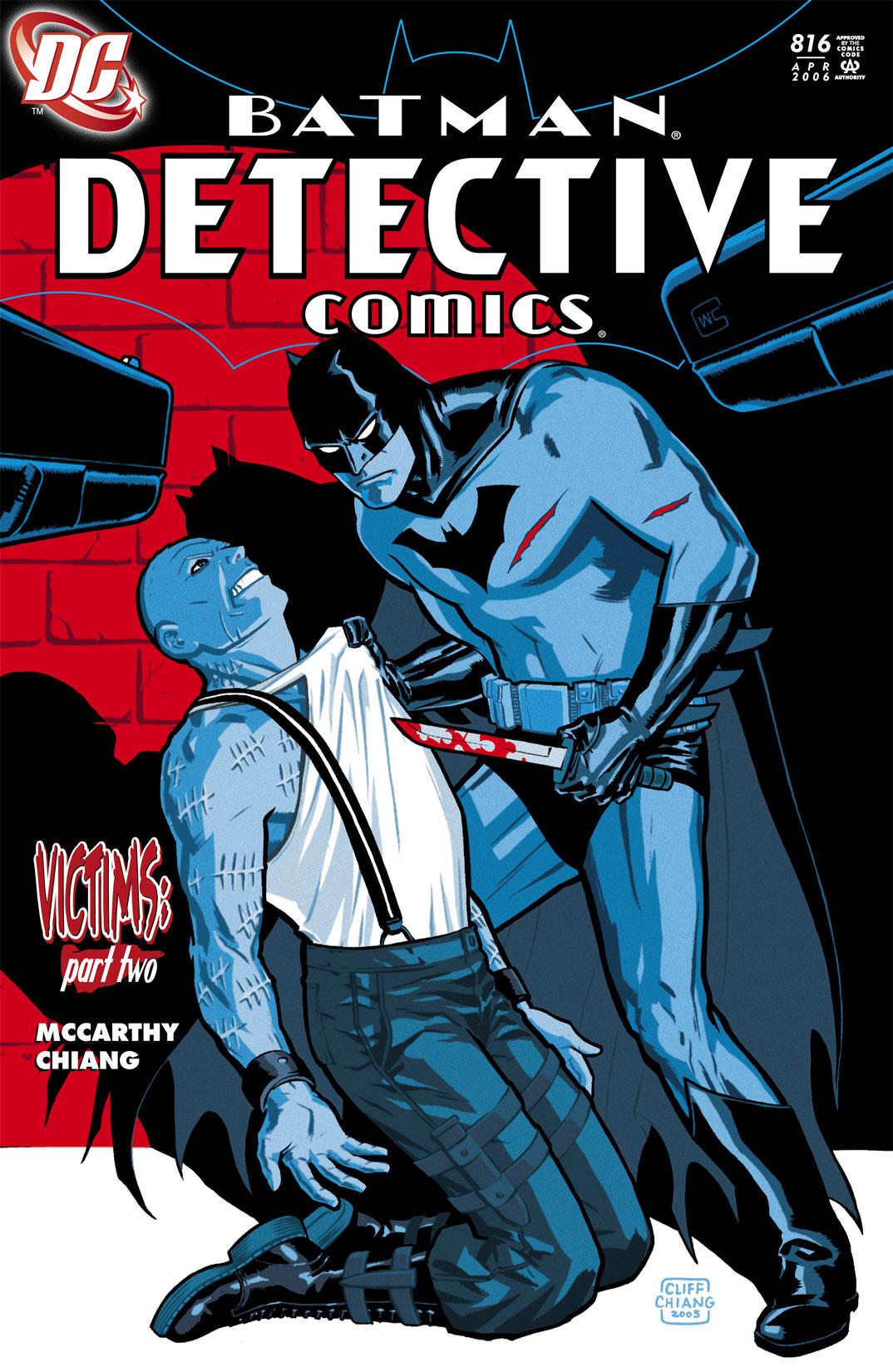 Detective Comics (1937) 816 Page 0