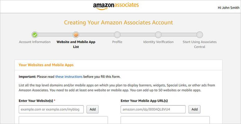 Profil Amazon