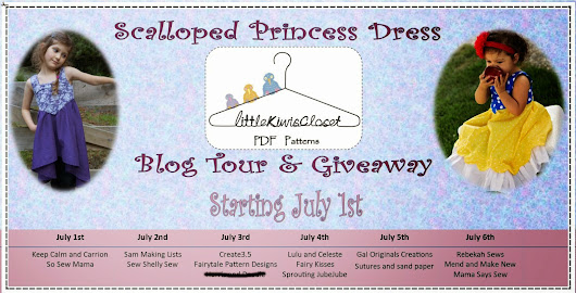Scalloped Princess Dress Pattern