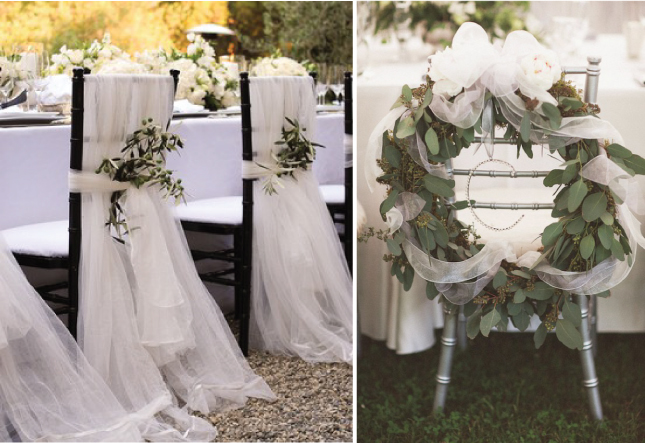 Dress Up Your Wedding Chairs Belle The Magazine