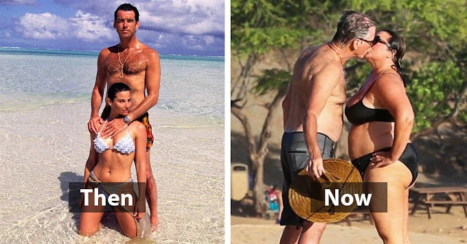 Pierce Brosnan and his wife are celebrating 25 years of marriage, see their love story in pictures