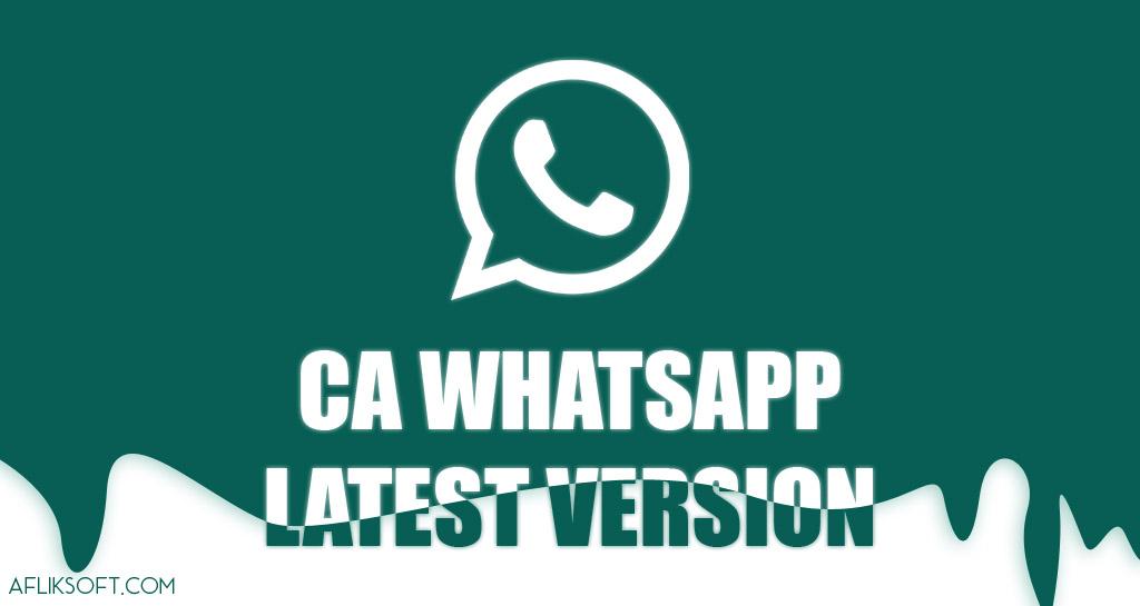 CA WhatsApp