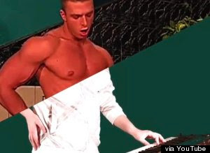 Gay Porn Band - The vid features a clever and funny (to me anyway) NSFW mashup of vintage gay  porn with images of people playing instruments...Musical instruments I mean.