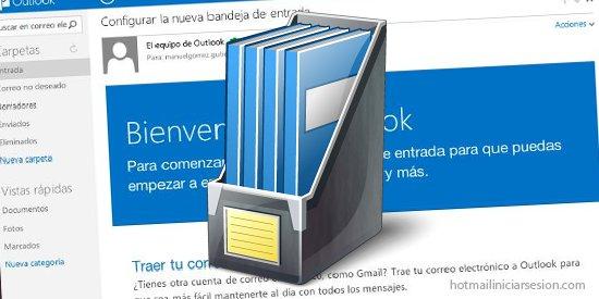 Outlook.com limpia y ordenada