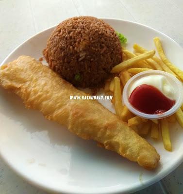 nasi goreng fish fillet Pak Mat Western Pulau Pinang